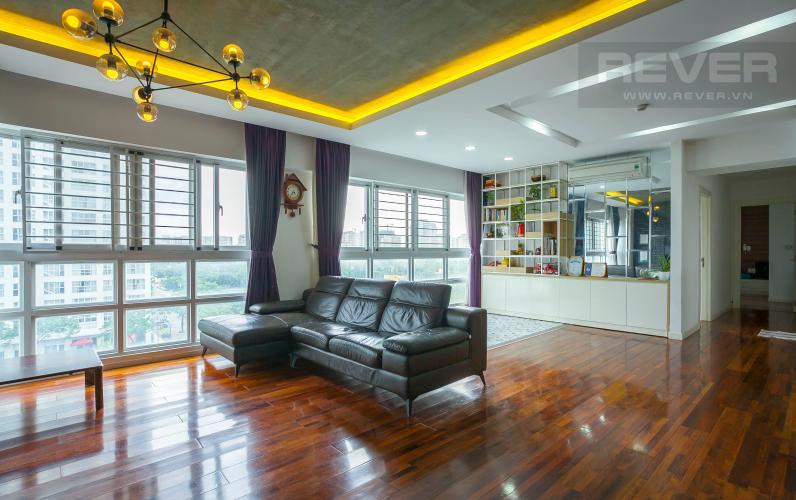 Tổng Quan Căn hộ Happy Valley tầng thấp 3 phòng ngủ thiết kế đẹp, tiện nghi