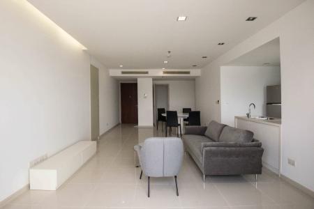 Cho thuê căn hộ City Garden tầng cao 2 phòng ngủ, đầy đủ nội thất, view thành phố