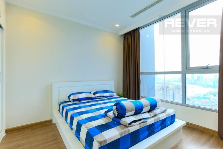 Phòng Ngủ 2 Căn hộ Vinhomes Central Park tầng cao L3, 3 phòng ngủ, nội thất đầy đủ