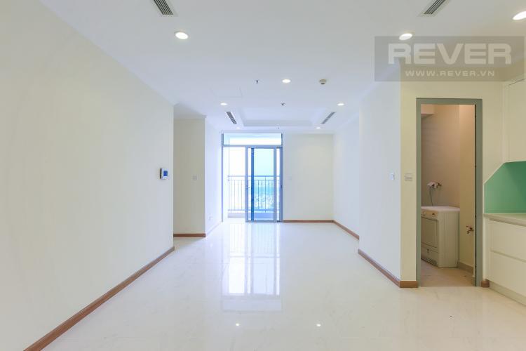 Phòng Khách Căn hộ Vinhomes Central Park 2 phòng ngủ tầng cao L3 view sông