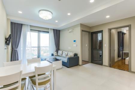 Căn hộ The Gold View 2 phòng ngủ tầng trung tháp B nội thất đầy đủ