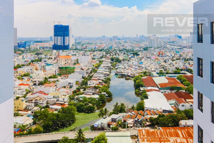 View Căn hộ M-One Nam Sài Gòn 2 phòng ngủ tầng cao T2 hướng Tây Nam