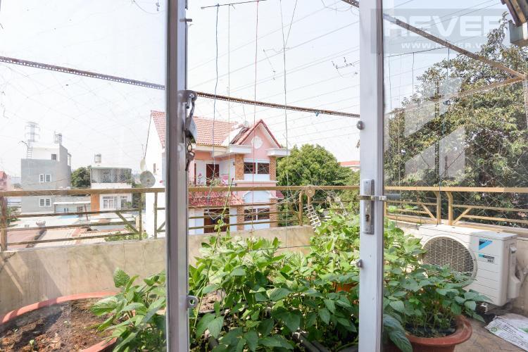 Ban công nhà phố Quận 9 Cho thuê nhà nguyên căn đường Trương Văn Thành, phường Hiệp Phú, Quận 9, đầy đủ nội thất, cách Xa lộ Hà Nội 600m