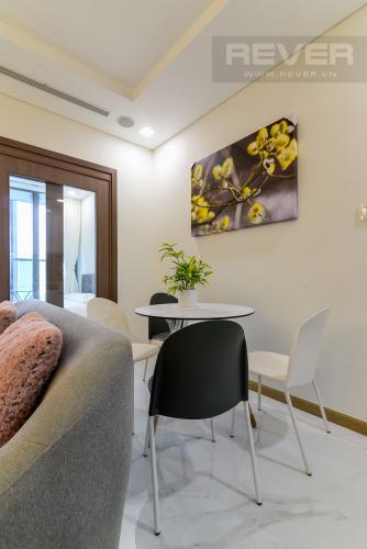 Phòng Ăn Cho thuê căn hộ Vinhomes Central Park 48m2, nội thất hạng sang, view thành phố