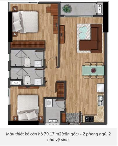 Căn hộ Akari City view thoáng mát, nội thất cơ bản chủ đầu tư.