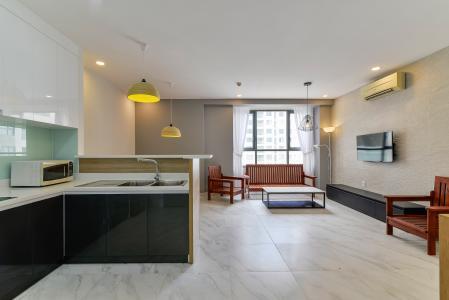 Căn hộ The Gold View 2 phòng ngủ tầng trung A3 nội thất đầy đủ