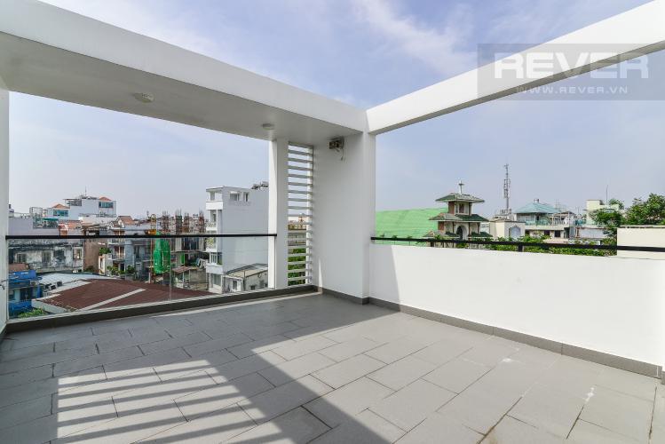 Sân Thượng Nhà phố mặt tiền đường Lê Văn Sỹ Quận 3 tiện kinh doanh