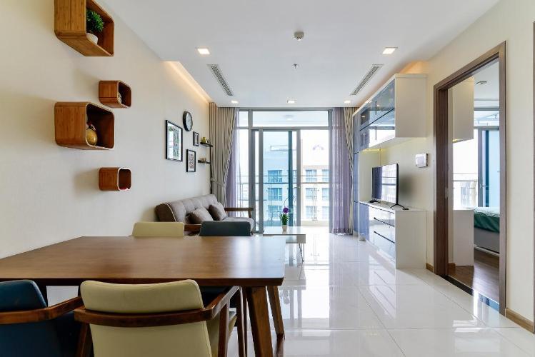 6 Bán căn hộ Vinhomes Central Park 1PN, tháp Park 7, đầy đủ nội thất, view hồ bơi và mé sông