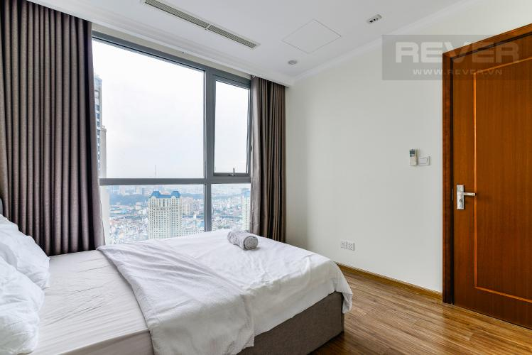 Phòng Ngủ 2 Căn hộ Vinhomes Central Park tầng cao, tháp Landmark 3, 3 phòng ngủ, full nội thất