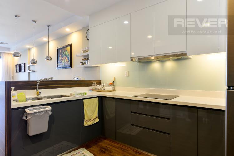 Bếp Bán căn hộ The Gold View 2PN, tháp A, đầy đủ nội thất, hướng Đông Bắc, view hồ bơi và kênh Bến Nghé