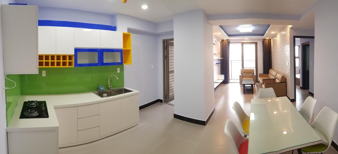 Bếp căn hộ Saigon South Residence Căn hộ Saigon South Residence tầng cao, đầy đủ nội thất hiện đại