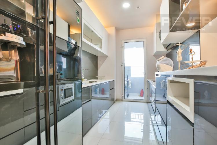 Bếp Căn hộ Sunrise City 3 phòng ngủ tầng cao X2 view đẹp, full nội thất