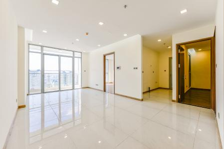 Officetel Vinhomes Central Park 2 phòng ngủ tầng cao P7 nhà trống
