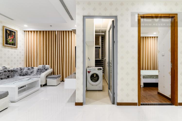 Phòng Phơi Căn hộ Vinhomes Central Park 2 phòng ngủ tầng trung L5 đầy đủ nội thất