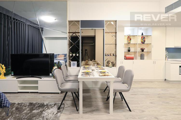 Phòng Ăn Bán hoặc cho thuê căn hộ Gateway Thảo Điền 1PN, đầy đủ nội thất, view Landmark 81