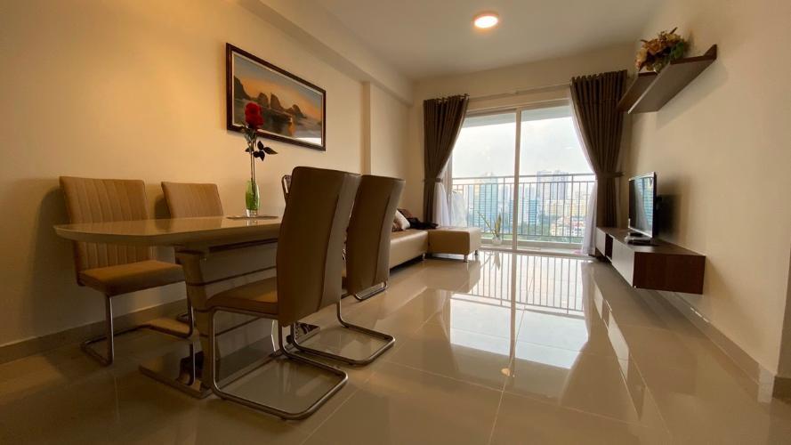 Phòng khách căn hộ  Cho thuê căn hộ Sunrise Riverside 3 phòng ngủ diện tích 93m2