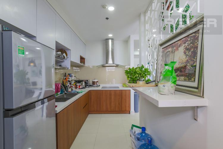 Phòng Bếp Cho thuê căn hộ RiverGate Residence 3PN, tầng cao, tháp B, đầy đủ nội thất, view sông thoáng mát