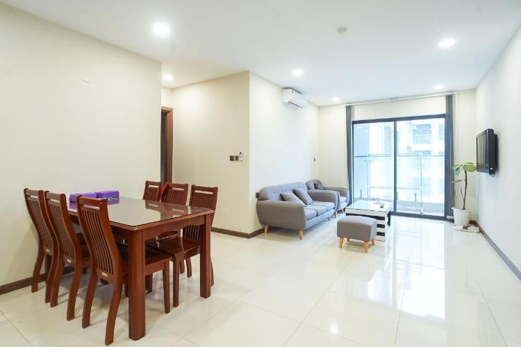 Bán căn hộ De Capella tầng trung, block A, diện tích 69.9m2 - 2 phòng ngủ, đầy đủ nội thất