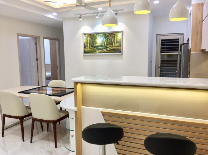 Phòng bếp căn hộ Midtown Căn hộ Phú Mỹ Hưng Midtown nội thất cơ bản, ban công hướng Tây Bắc.