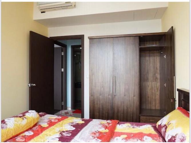Phòng ngủ The Tresor Quận 4 Căn hộ tầng cao The Tresor hướng Đông Bắc, view thoáng mát.