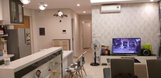 Cho thuê căn hộ Diamond Island - Đảo Kim Cương 2PN, tháp Hawaii, đầy đủ nội thất, view nội khu
