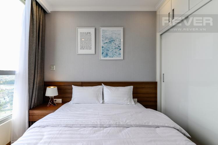 Phòng Ngủ 2 Căn hộ Vinhomes Central Park 2 phòng ngủ tầng trung L6 hướng Đông Bắc