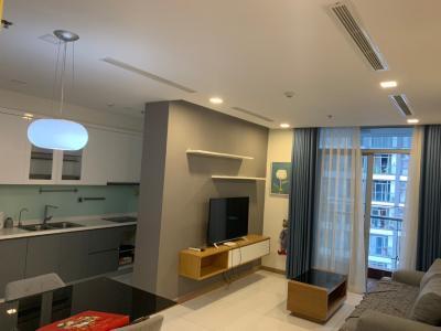 Cho thuê căn hộ Vinhomes Central Park 2PN, diện tích 89m2, đầy đủ nội thất, view hồ bơi