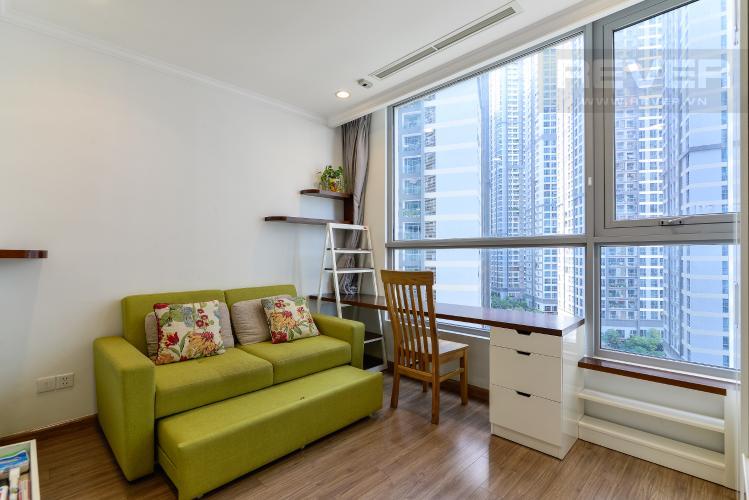 Phòng Ngủ 3 Bán căn hộ Vinhomes Central Park 4PN, tháp The Central 2, đầy đủ nội thất, view hồ bơi