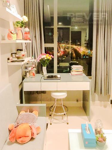 Phòng Khách Căn office-tel RiverGate Residence tầng trung, 1PN, nội thất cơ bản