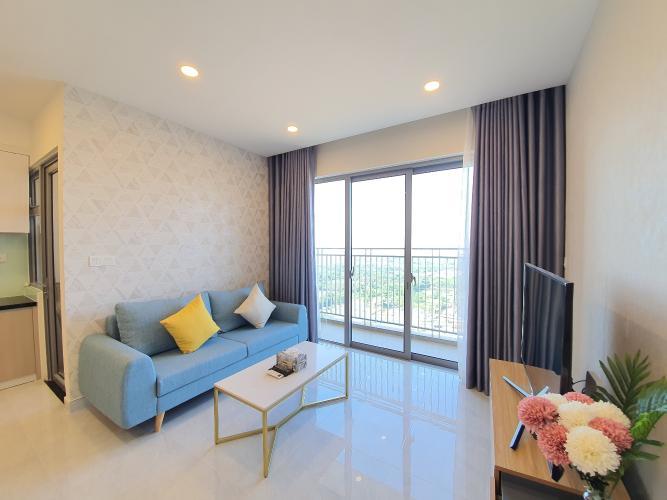 phòng khách căn hộ Palm Heights Căn hộ Palm Heights tầng cao, hướng Đông Nam.