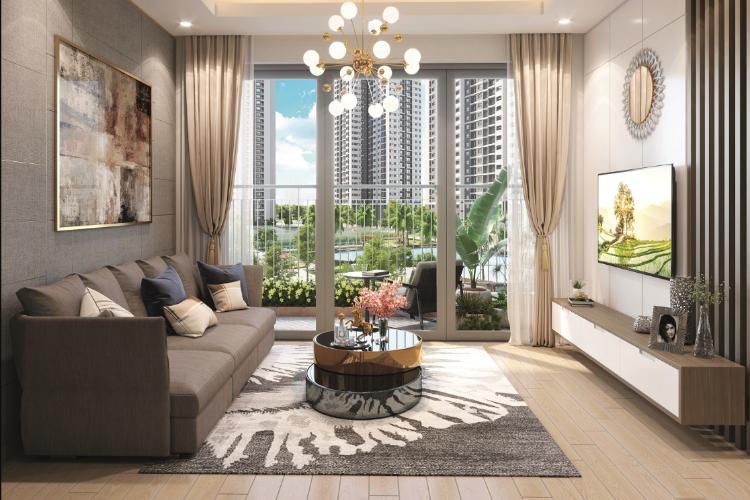 Phòng khách Vinhomes Grand Park Quận 9 Căn hộ Vinhomes Grand Park tầng 26, view sông thoáng mát.