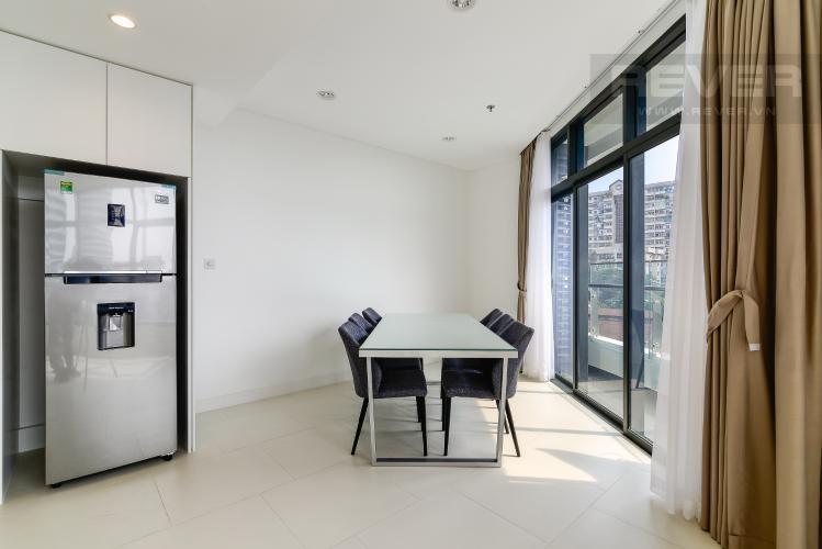 Phòng Ăn Cho thuê căn hộ City Garden tầng thấp, 3PN đầy đủ nội thất, có thể dọn vào ở ngay