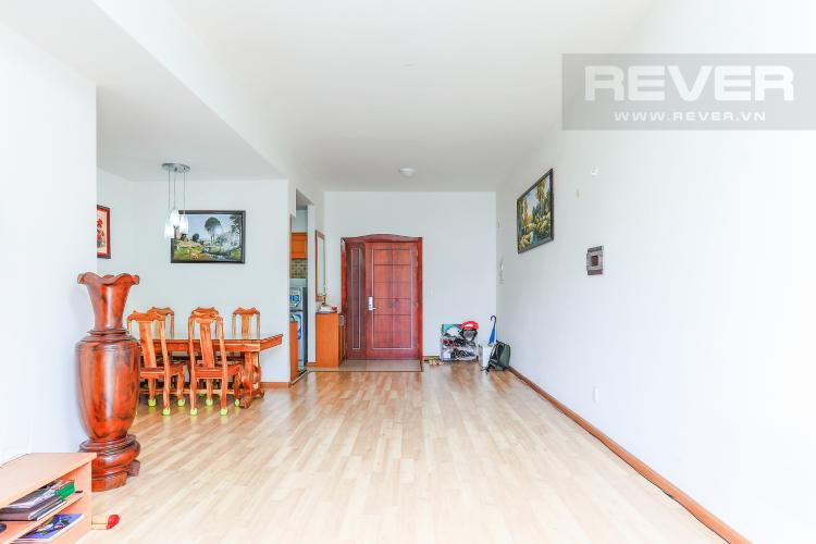 Phòng Khách Cho thuê căn hộ V-Star Quận 7 3PN, nội thất cơ bản