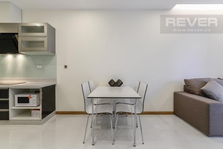 Phòng Ăn Căn hộ Vinhomes Central Park 1 phòng ngủ tầng cao P7 view sông