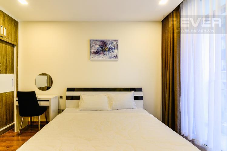 Phòng Ngủ 1 Căn hộ Vinhomes Central Park 2 phòng ngủ tầng cao P3 hướng Bắc