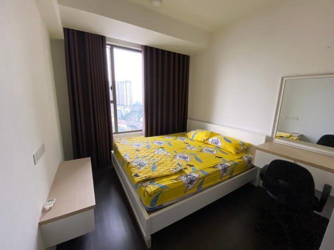 Phòng ngủ The Tresor Quận 4 Căn hộ tầng trung The Tresor đầy đủ nội thất, view thành phố.