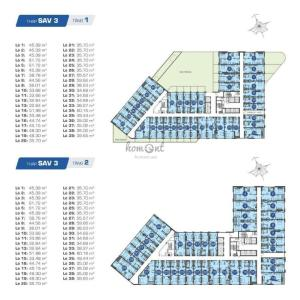 Cho thuê căn hộ officetel The Sun Avenue, block 3, diện tích 31m2