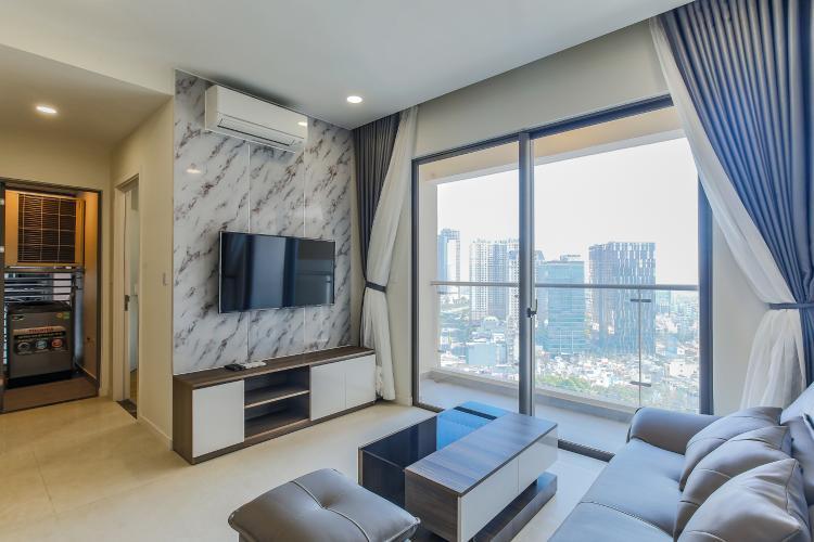 Căn hộ Masteri Millennium tầng cao, block B, 2PN nội thất đầy đủ