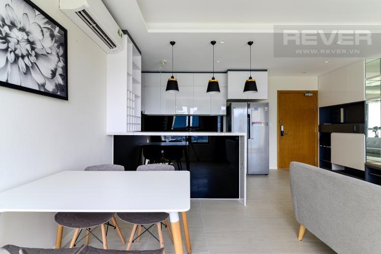 Phòng Ăn & Bếp Bán hoặc cho thuê căn hộ Diamond Island - Đảo Kim Cương 2PN, tháp Bora Bora, đầy đủ nội thất, view sông mát mẻ