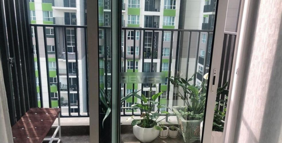 Ban công Vista Verde Quận 2 Căn hộ Vista Verde tầng trung nội thất đầy đủ, view nội khu.