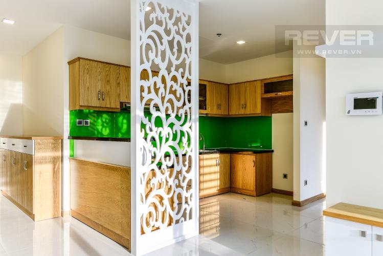 Nhà Bếp Officetel Vinhomes Central Park 2 phòng ngủ tầng cao P7 đầy đủ tiện nghi