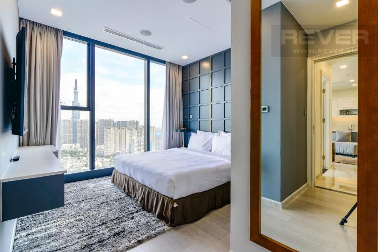 Phòng Ngủ 1 Căn hộ Vinhomes Golden River 2PN tầng cao, view đẹp, đầy đủ nội thất