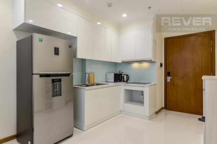 Nhà Bếp Căn hộ Vinhomes Central Park 1 phòng ngủ tầng cao L4 nội thất đầy đủ