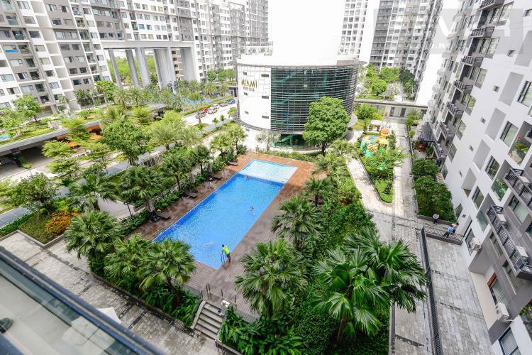 View Bán căn hộ New City Thủ Thiêm 2PN, tháp Babylon, đầy đủ nội thất, view trực diện hồ bơi