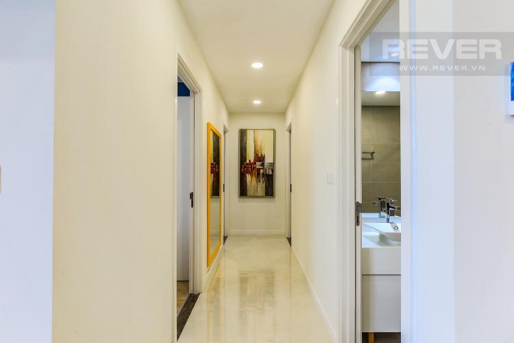 Hành Lang Cho thuê căn hộ Masteri Millennium tầng trung 3PN đầy đủ nội thất, diện tích rộng rãi