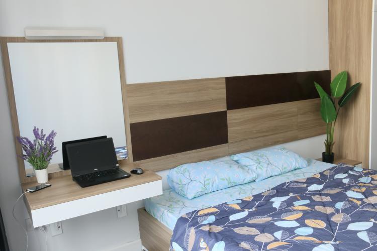 Phòng ngủ The Tresor Quận 4 Căn hộ tầng cao The Tresor đầy đủ nội thất, view sông.