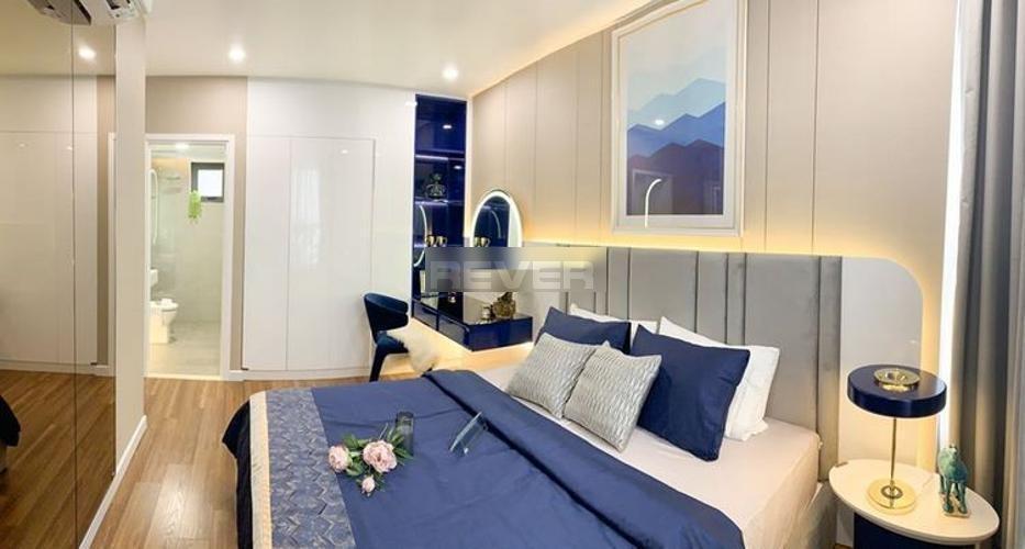 Phòng ngủ D'Lusso Quận 2 Căn hộ D'Lusso tầng 8, ban công view sông, nội thất cơ bản.