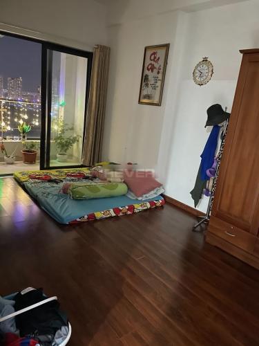Phòng ngủ Cetana Thủ Thiêm, Quận 2 Căn hộ Cetana Thủ Thiêm tầng trung, đón view thành phố.
