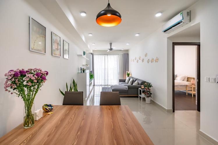 phòng ăn căn hộ The Tresor Căn hộ tầng trung The Tresor thiết kế hiện đại, không gian thoáng mát