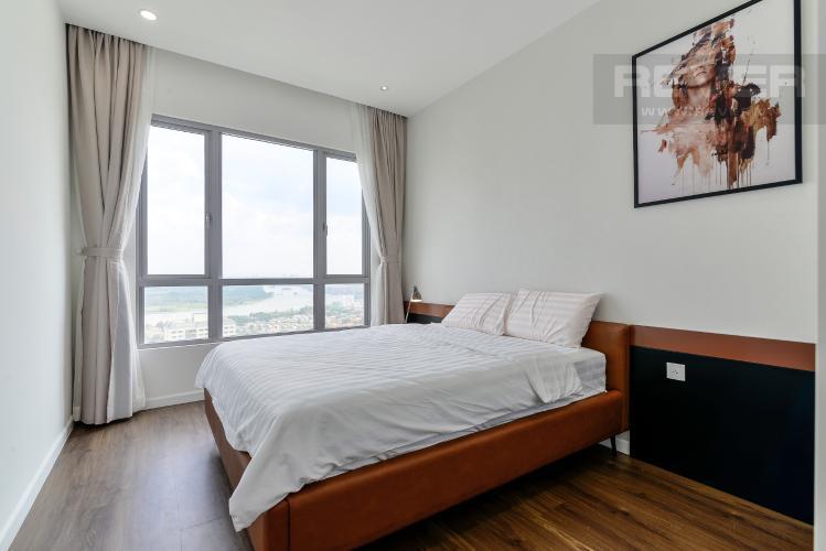 Phòng Ngủ 2 Cho thuê căn hộ Estella Heights 3PN, tầng cao, đầy đủ nội thất, view Xa lộ Hà Nội